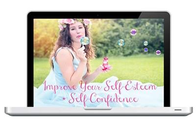 self-esteem + self-confidence e-course