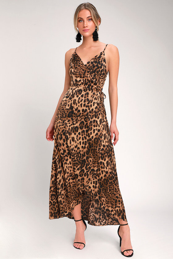 what to wear on a date leopard print dress